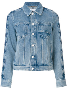 джинсовая куртка со звездами Givenchy