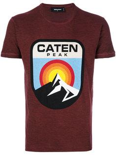 футболка с принтом горы Dsquared2