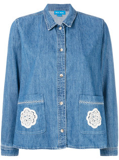 джинсовая рубашка Lace Vintage Mih Jeans