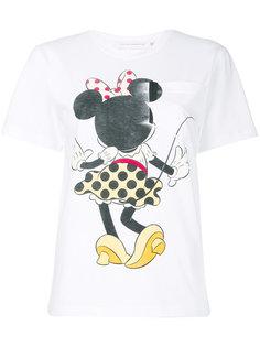 футболка с принтом Victoria Beckham