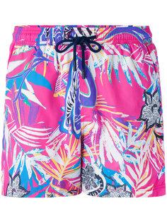 шорты для плавания с цветочным принтом Etro