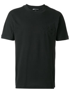 футболка с тисненым логотипом Y-3