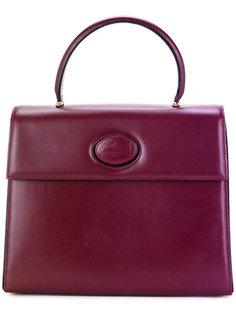 сумка с тисненым логотипом  Cartier Vintage