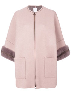пальто с укороченными рукавами Agnona