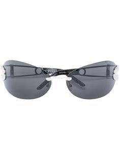солнцезащитные очки с отделкой  Gianfranco Ferre Vintage