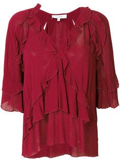 блузка с оборками Abby Iro