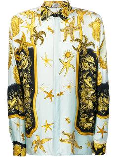 рубашка с принтом Versace Vintage