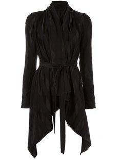 пиджак с поясом и драпировкой Masnada