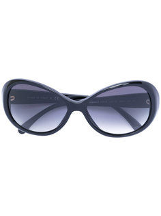 солнцезащитные очки в овальной оправе  Chanel Vintage