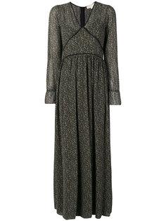длинное платье шифт Michael Kors