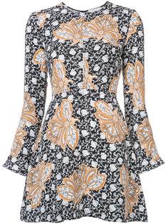 короткое платье с принтом A.L.C.