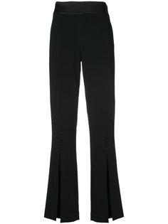 узкие брюки с разрезом спереди Jonathan Simkhai
