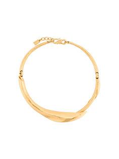 ожерелье-чокер в виде листа  Kenzo Vintage