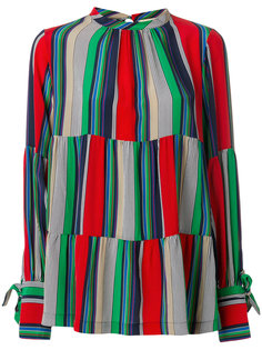полосатая блузка Erika Cavallini