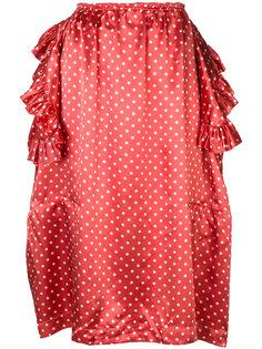 юбка в горошек с оборками  Comme Des Garçons Vintage
