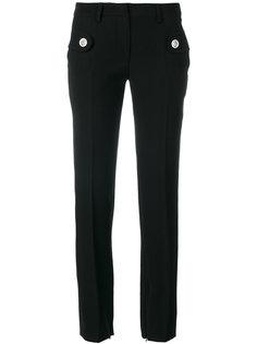 прямые брюки с карманами на пуговицах  Versus