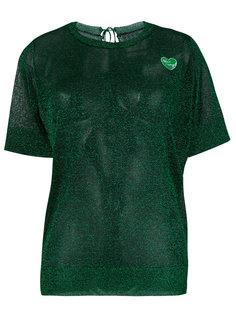 блестящая футболка Zoe Karssen