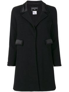 пальто миди с карманами Chanel Vintage