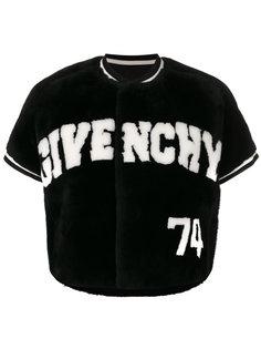 укороченная куртка с логотипом Givenchy