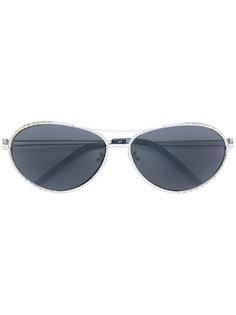 солнцезащитные очки-авиаторы с отделкой  Gianfranco Ferre Vintage