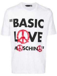 basic love T-shirt Love Moschino