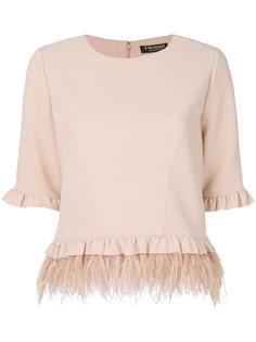 блузка с бахромой Twin-Set