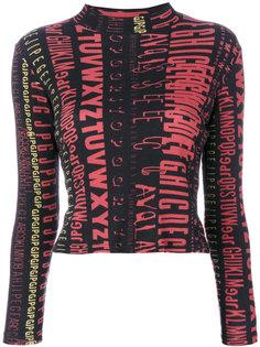 топ с длинными рукавами  Jean Paul Gaultier Vintage