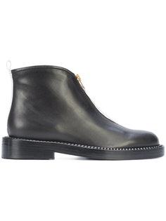 ботинки с контрастной полоской сзади Marni