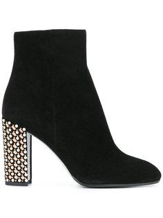 studded heel ankle boots René Caovilla