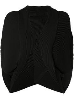 куртка с неравномерным подолом Issey Miyake