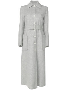 однобортное пальто Helmut Lang