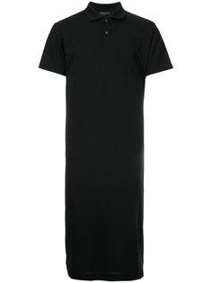 длинная рубашка-поло Comme Des Garçons Vintage