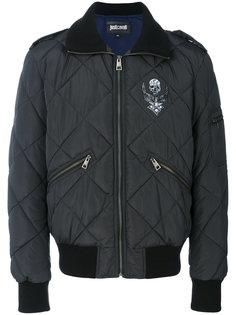 стеганая куртка-бомбер  Just Cavalli
