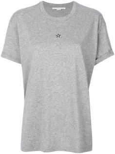 футболка с маленькой звездой Stella McCartney