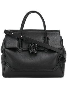 средняя сумка зернистой фактуры Palazzzo Versace