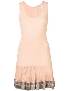 приталенное платье колор блок  Alaïa Vintage