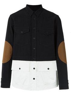 рубашка в стиле колор блок À La Garçonne