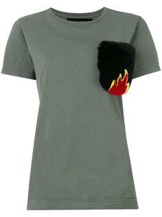 футболка с карманом  Mr & Mrs Italy