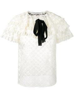 кружевная блузка с оборками Philosophy Di Lorenzo Serafini