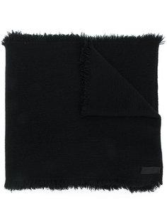 шарф с бахромой  Helmut Lang