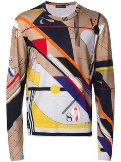 свитер с круглым вырезом Versace