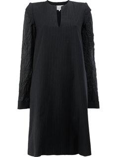 платье с рукавами на изнанку с необработанным краем Maison Margiela