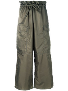 широкие брюки карго  Mm6 Maison Margiela