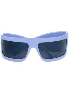 солнцезащитные очки с тисненым логотипом  Gianfranco Ferre Vintage
