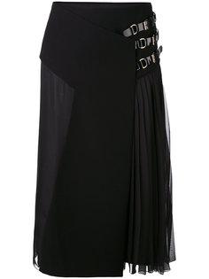плиссированная юбка миди Lanvin