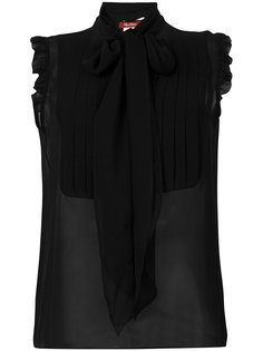 sleeveless pleat blouse  Max Mara Studio