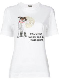 футболка Audrey Versace
