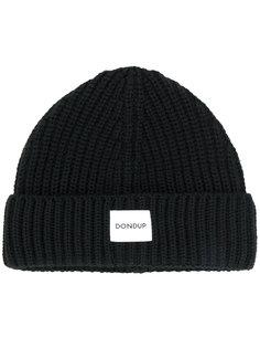 шапка с нашивкой логотипа Dondup