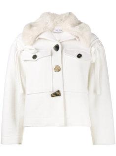 куртка с искусственным мехом Daphne Rejina Pyo