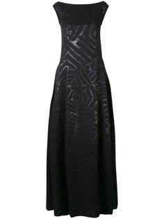 вечернее платье Noralee Talbot Runhof